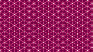 Pink Seamless Star Background Pattern Vector Illustration