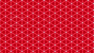Pink Seamless Stars Pattern Background Design