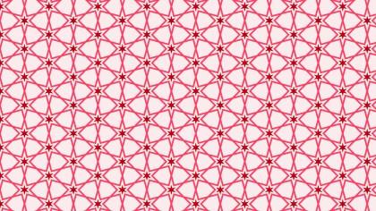 Pink Seamless Stars Background Pattern Image
