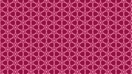 Pink Stars Pattern