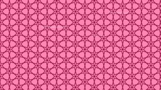 Pink Stars Pattern Background