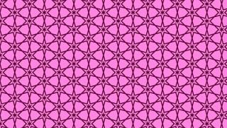 Fuchsia Seamless Stars Pattern