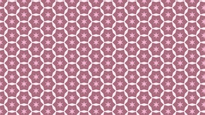 Pink Star Pattern Illustrator