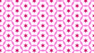 Pink Seamless Star Pattern Background Graphic