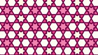 Pink Stars Pattern Background