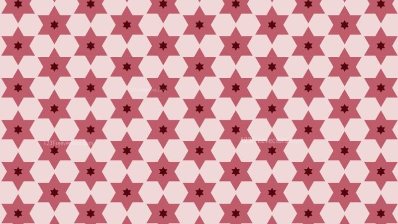 Pink Star Pattern Graphic