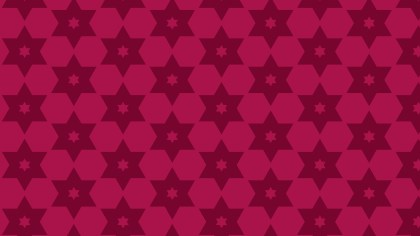 Pink Star Background Pattern Design