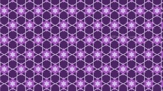 Purple Stars Pattern Illustrator