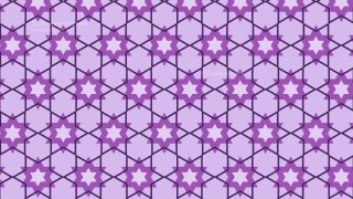 Lilac Seamless Stars Pattern Background Graphic