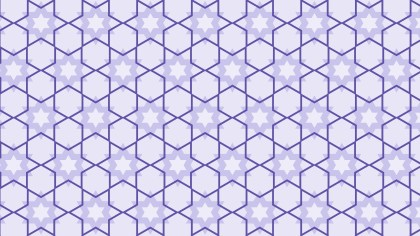 Purple Seamless Stars Background Pattern Illustration