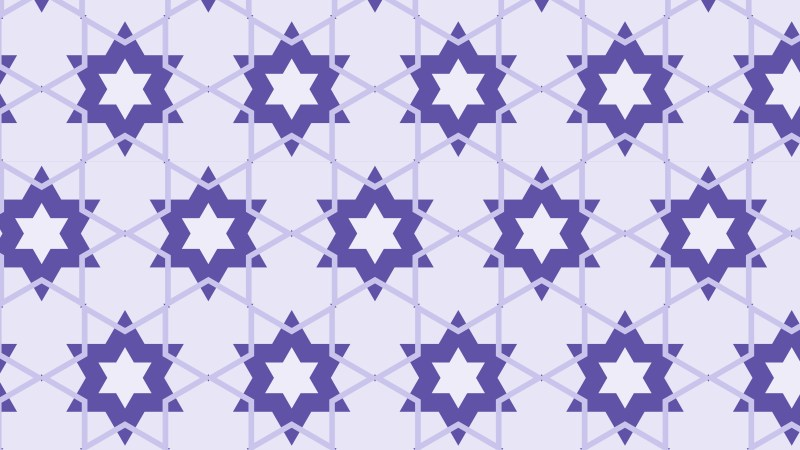 Purple Star Pattern