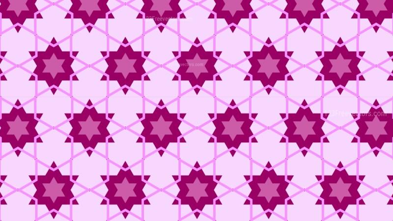 Purple Star Background Pattern