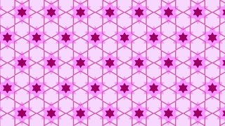Lilac Seamless Star Pattern Background