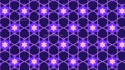 Indigo Stars Pattern