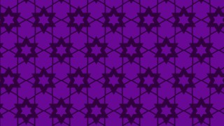 Purple Star Pattern Background Vector Image
