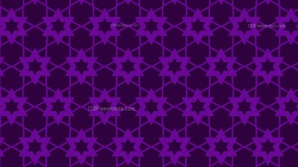 Purple Star Background Pattern Illustrator