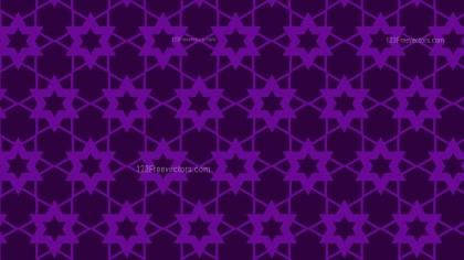 Purple Star Background Pattern Illustrator
