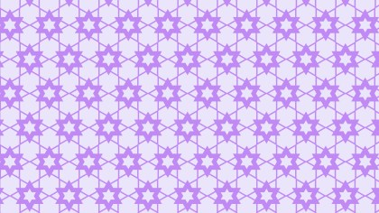 Violet Seamless Star Background Pattern Vector Art
