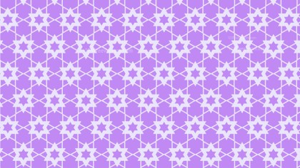 Violet Stars Pattern Graphic