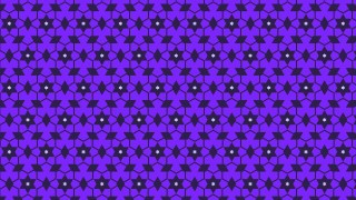 Indigo Stars Background Pattern Design