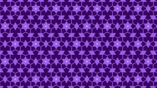 Indigo Seamless Stars Background Pattern Vector Image