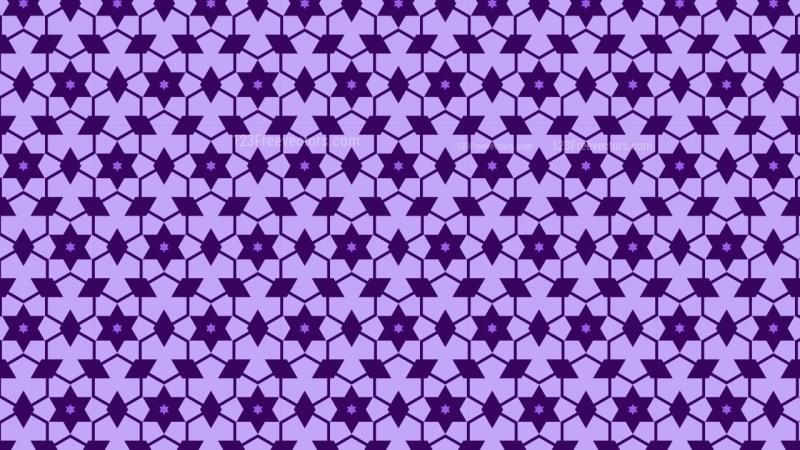 Indigo Star Background Pattern