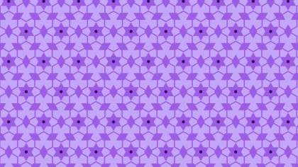 Purple Seamless Star Pattern