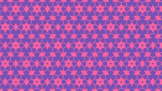 Purple Seamless Star Pattern Background