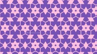 Purple Stars Pattern