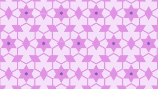Lilac Seamless Stars Pattern Background