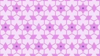 Lilac Seamless Stars Pattern Background