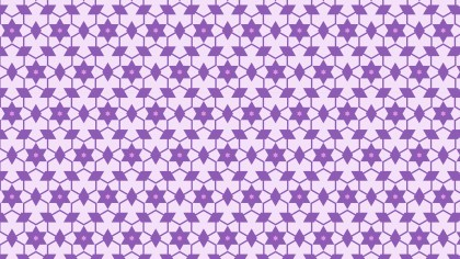 Purple Star Pattern Vector