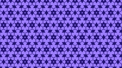 Indigo Star Pattern Background Vector Art