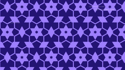 Indigo Star Background Pattern Graphic