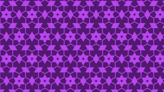 Purple Seamless Star Pattern Background Design
