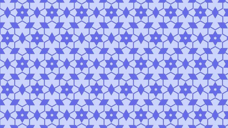 Violet Seamless Star Background Pattern Image