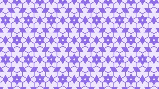 Violet Stars Pattern Background Vector Image