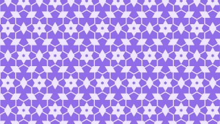 Violet Stars Background Pattern Illustrator