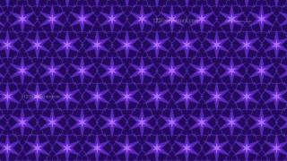 Violet Seamless Stars Pattern Background Vector