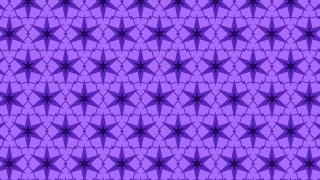 Violet Star Pattern