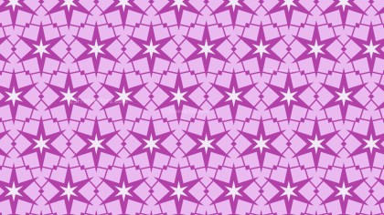 Lilac Star Background Pattern