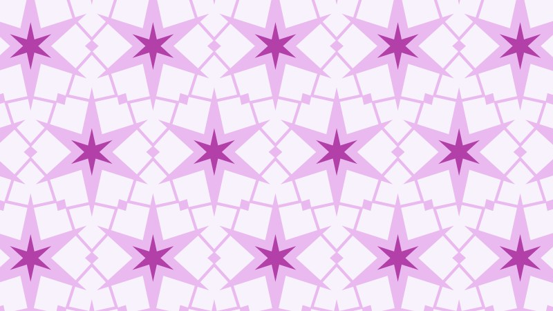 Purple Seamless Star Pattern