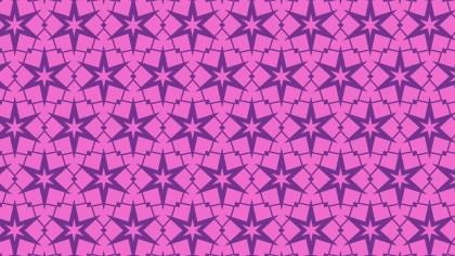 Purple Stars Background Pattern
