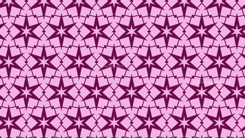 Purple Seamless Stars Pattern Background