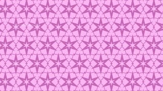 Lilac Stars Pattern Vector