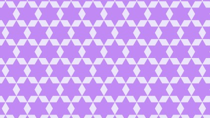 Violet Seamless Stars Background Pattern Image