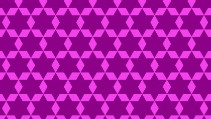 Purple Star Pattern Background