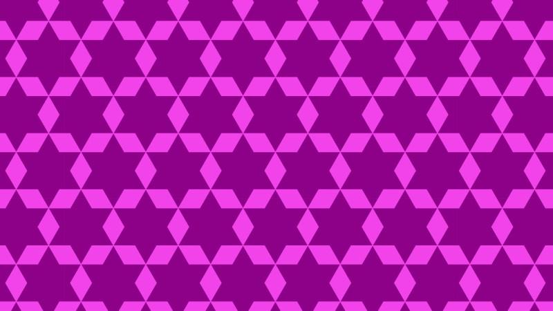 Purple Star Pattern Background