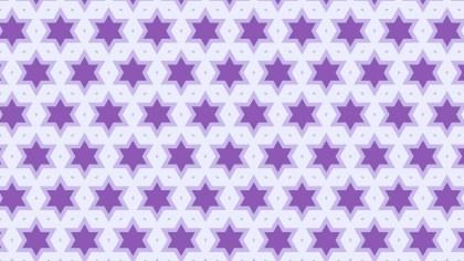 Purple Stars Pattern Background