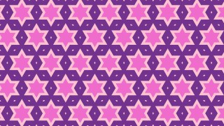 Purple Stars Background Pattern